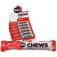 GU Energy Chews (24 x 54g) Strawberry