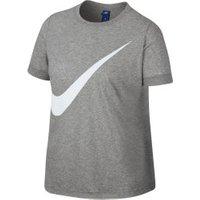 Nike Sportswear Wmns Plus Size T-Shirt dark grey heather/white