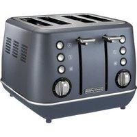 Morphy Richards Evoke 4 Slice Toaster Steel Blue