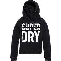Superdry Dimension Panel Sport Shorthoodie black