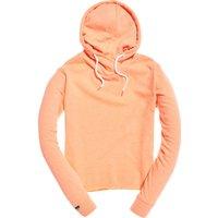 Superdry Orange Label Luxe Loopback Shorthoodie jaspe