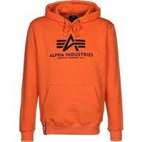 Alpha Industries Basic Hoody flame orange (178312-417)