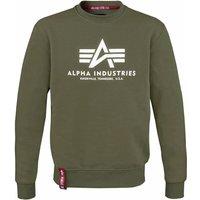 Alpha Industries Basic Sweater dark green (178302-257)
