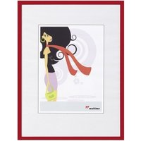 walther design Plastic Frame New Lifestyle 15x20 red