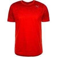 Puma Running Men Graphic T-Shirt flame scarlet