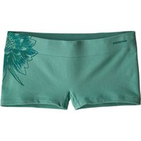 Patagonia Women's Active Mesh Boy Shorts (32418) cereus graphic/beryl green