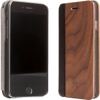 WOODCESSORIES EcoFlip Coque smartphone (Noyer)