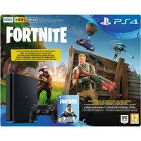 Sony PlayStation 4 (PS4) Slim 500GB + Fortnite + Royale Bomber Pack