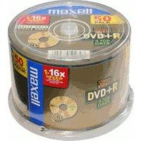 Maxell DVD+R 4,7GB 120min 16x 50pk Spindle