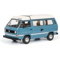 Schuco VW T3a Westfalia Joker with folding roof, blue, 1:18 (38700)