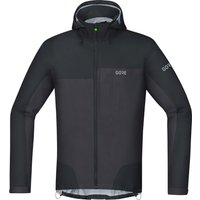 Gore C5 Gore-Tex Active Trail Hooded Jacket black/terra grey