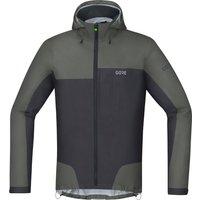 Gore C5 Gore-Tex Active Trail Hooded Jacket castor grey/terra grey