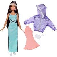 Barbie Fashionistas -Sweet & Sporty Doll & Fashions - Original (FJF71)