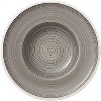 Villeroy & Boch Manufacture Gris soup plate 25 cm