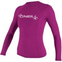 O'Neill Women's Basic Skins L/S Crew fox pink
