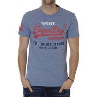 Superdry Shop Tri T-Shirt print horizon blue marl