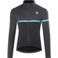 Sportful Giara Softshell Jacket Men black/blue denim