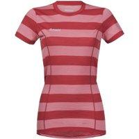 Bergans 8981 Soleie Lady Tee pale red/pale coral striped