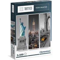 Clementoni New York 3 x 500 (39305)
