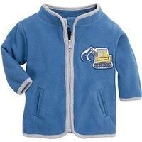 Schnizler Fleece Jacket Excavator blue