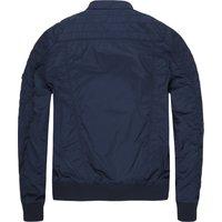Tommy Hilfiger TJM Crushed Biker Jacket (DM0DM04047-002) black iris blue