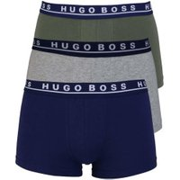 Hugo Boss Boxershorts 3er-Pack oliv/grey/blue (50325791/969)
