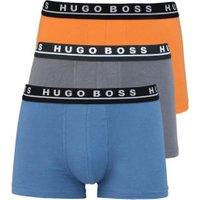 Hugo Boss Boxershorts 3er-Pack anthrazit/orange/rauchblau (50325791/974)