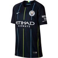 Nike Nike Youth Manchester City Short Sleeved Away Stadium Jersey