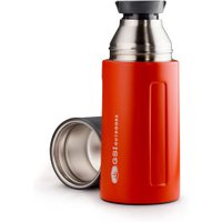 GSI Glacier Stainless Vacuum Bottle 0,5L red