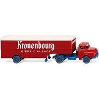 Wiking Box semi-trailer (Saviem) Kronenbourg (051322)