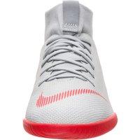Nike Jr. MercurialX Superfly VI Academy AH7343-060 wolf grey/pure platinum/metallic silver/light crimson