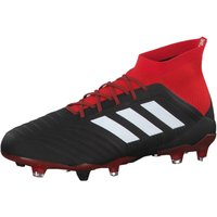 adidas Mens Predator 18.1 Fg Footbal Shoes, Black CblackFtwwhtRed, 6 UK