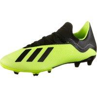 adidas Mens X 18.3 Fg Footbal Shoes Solar YellowCore BlackFTWR White 10 UK