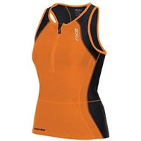 2XU Peform Tri Singlet black/orange (WT3637a)