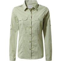 Craghoppers Nosilife Adventure L/S Shirt bush green