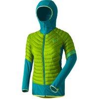 Dynafit TLT Hybrid Primaloft Hood Jacket Women lime punch