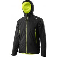 Löffler Hooded Jacket Proton Thermium black/light green