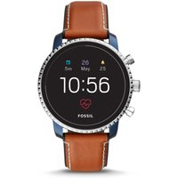 Fossil Q Explorist HR Leather tan
