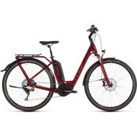 Cube Touring Hybrid EXC 500 (Wave) (2019) red