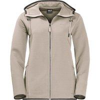 Jack Wolfskin Modesto Hooded Jacket Women dusty grey
