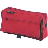 Herlitz Pencil Pouch with 2 Pockets red