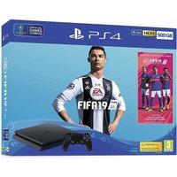 Sony PlayStation 4 (PS4) Slim 500GB + FIFA 19
