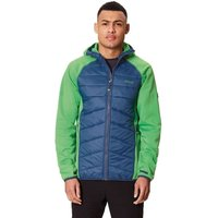 Regatta Andreson lll Hybrid Softshell Jacket Men fairwy green / dark denim