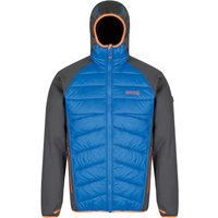 Regatta Andreson lll Hybrid Softshell Jacket Men seal grey/oxford blue
