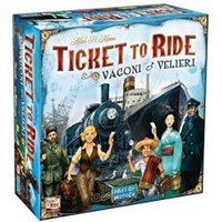 Asmodée Ticket to Ride: rails and sails (8520)