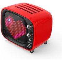 Divoom Tivoo LED Pixel Art Red Bluetooth Speaker