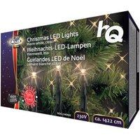 HQ Christmas LED Lights Warm white, clear 160 pcs.