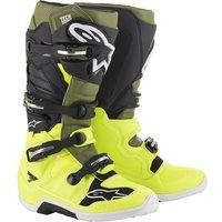 Alpinestars Tech 7 Boot Yellow Fluo/Green/Black