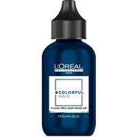 L'Oréal #Colorfulhair Flash Pro Hair Make-Up - Feeling Blue (60 ml)