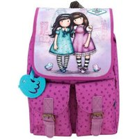 Santoro Gorjuss Backpack with pockets Friends Walk Together (652gj03)